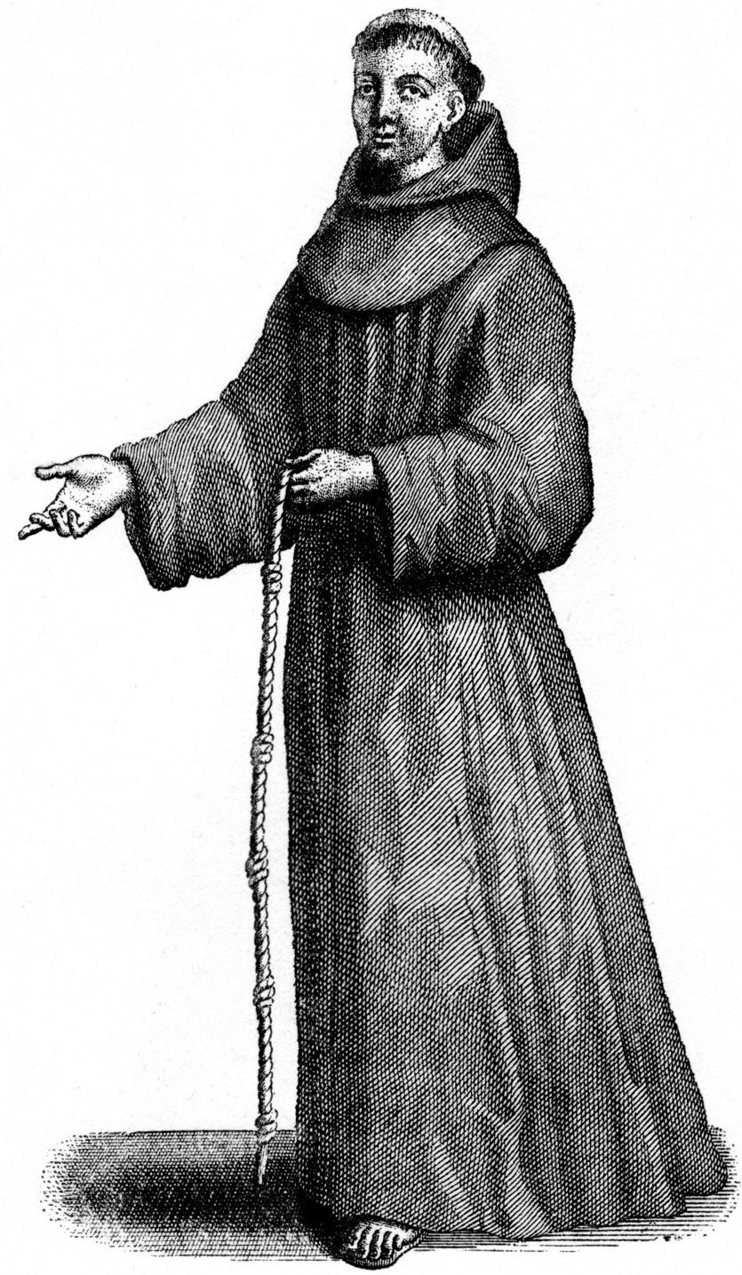Средневековые монахи картинки